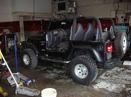 wrecked jeep wrangler for sale 1999 jeep wrangler tj salvage no damage pirate4x4 com 4x4 and