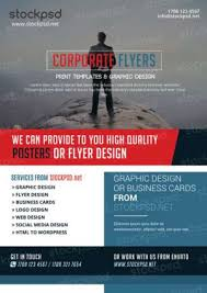 free flyer design free corporate psd flyers flyershitter