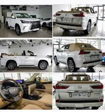 lexus hang xe nuoc nao phiên bản cắt mui của lexus lx570 2016 có giá tương đương siêu xe