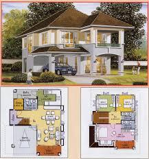 architecture u0026 art khmer thai villa house plan collection 01