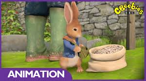 mr mcgregor s garden rabbit cbeebies rabbit and the sunflower seeds
