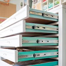 Craft Room Cabinets Check Out Jen From Something Turquoise U0027s New Craft Room