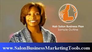 hair salon business plan sample outline youtube