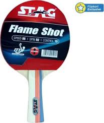 best table tennis racquet stag flame shot table tennis racquet red black weight 190 g best