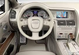audi q7 interior parts audi q7 4 2 fsi quattro technical details history photos on