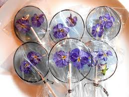 Where To Buy Edible Flowers - edible flower petals preserved inside lollipops bored panda