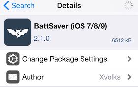 game mod cydia repo improve battery life on ios 9 with the battsaver tweak