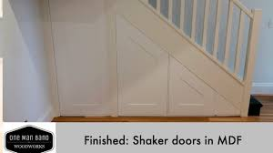 Shaker Doors For Kitchen Cabinets by Shaker Doors Making Shaker Doors In Mdf Final 3 Panel Shaker