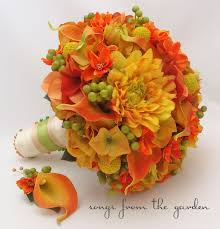 Wedding Flowers Fall Colors - 190 best fall autumn bouquets images on pinterest bridal