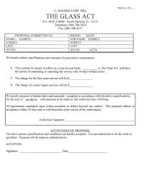 Hvac Sample Resume by Hvac Service Contract Template Virtren Com