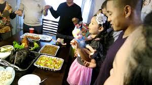 thanksgiving dinner prayer blessing thanksgiving dinner prayer by ellie youtube