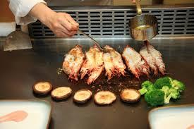 le teppanyaki cuisine japonaise