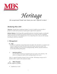property management proposal template sample business plan