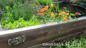 How To Make A Raised Bed Vegetable Garden - best wood for raised garden beds empress of dirt