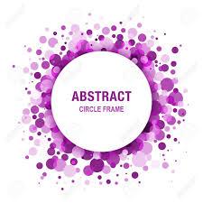 imagenes abstractas con circulos purple marco violeta abstracto del círculo diseño elemento