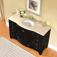 60 Double Sink Bathroom Vanity Reviews Vanities Bathroomsmodern Dark Floating Sink Cabinet With Double