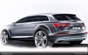 Audi Q7 2015 - audi design draws the new q7 fourtitude com