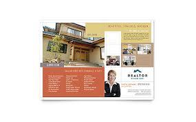 realtor u0026 real estate agency flyer template word u0026 publisher
