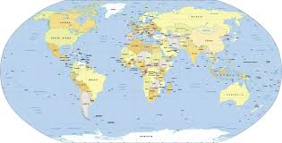 map of th world world map political map of the world nations project