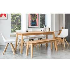 bench dining room table bench seating dining table sets wayfair co uk