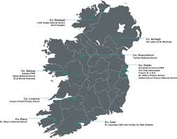 Dublin Ireland Map Education U2014 Ashoka 10