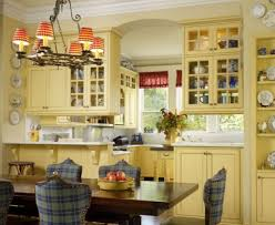french country kitchen with dark brown cabinets others