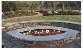 Fire Pit With Glass by 75 Off On 1 2
