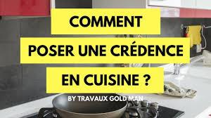 poser credence cuisine comment posé une crédence en cuisine