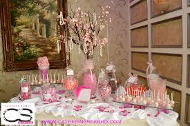 Pink And Black Candy Buffet by Cherry Blossom Candy Buffet Google Search Candy Buffet Table