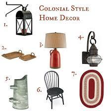 Impressive Design 7 Colonial Farmhouse Best 25 1930s Home Decor Ideas On Pinterest 1930s House
