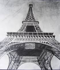 40 easy eiffel tower drawing ideas to try
