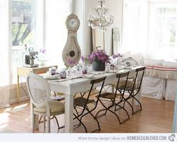Pretty And Charming Shabby Chic Dining Rooms Home Design Lover - Chic dining room ideas