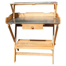 heritage traders wooden potting bench u0026 reviews wayfair co uk