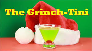 martini mistletoe how to make the grinch tini martini drinks made easy youtube