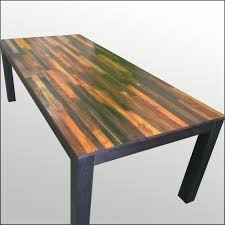 Weathered Wood Coffee Table Handmade Weathered Wood Dining Table U2013 Scrap Wood Designs