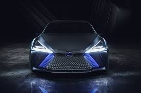 lexus lit lexus ls concept previews revised styling language