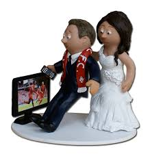 football cake toppers stunning decoration football wedding cake toppers chic design all