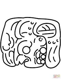 imagenes mayas para imprimir moderno maya para colorear colección ideas para colorear