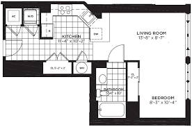 what is wh in floor plan yale west apartments luxury dc apartments floor plans