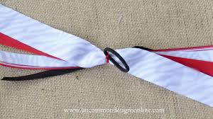ribbon hair ties how to make spirit and cheer ribbons hair bows with the i top