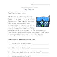reading comprehension worksheets all kids network