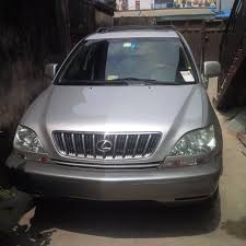 first lexus model pristine clean lexus rx 300 2002 model for 2 6m autos nigeria