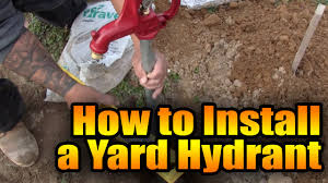 How Does An Outdoor Faucet Work Homesteady How To Install A Water Hydrant Youtube