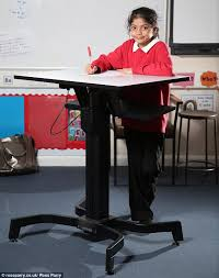 Standing Desk Feet Hurt Primary Introduces Standing Desks Allowing Children To