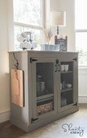 Old Farmhouse Kitchen Cabinets Best 25 Chicken Wire Cabinets Ideas On Pinterest Farmhouse