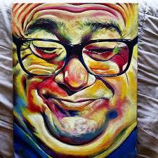 devito in color oil 16 x 20 in art