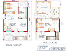 Smart Floor Plan by 7 600 Sq Ft House Plans 2 Bedroom Indian Bhk At 8 00 Smart Ideas