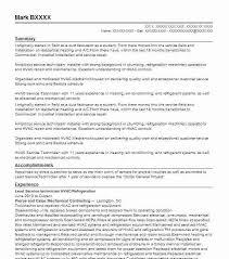 Mechanical Technician Resume Sample Resume For Hvac Technician Technician Resume Sample Sample