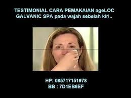 Pemutih Wajah Nu Skin sahabat nu skin ageloc galvanic spa