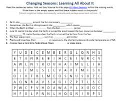seasons of the year free download printable hidden words activity